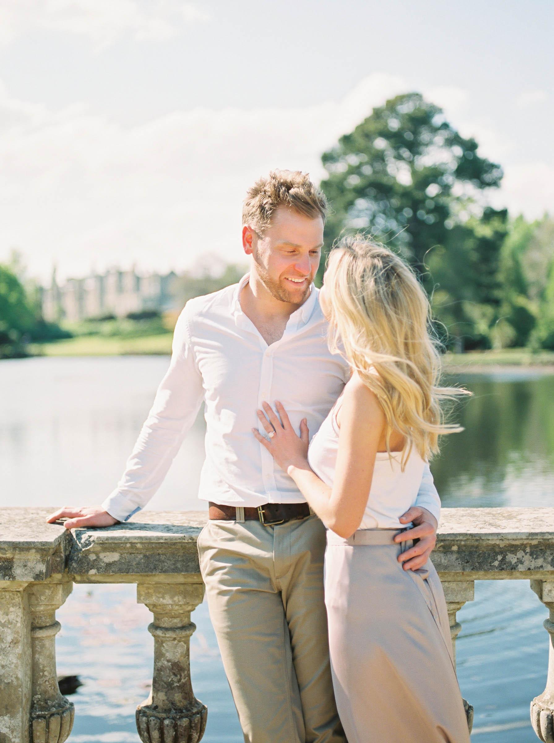 Amy O'Boyle Photography- Destination & UK Fine Art Film Wedding Photographer- Sheffield Park Garden National Trust Spring Engagement Shoot-29.jpg
