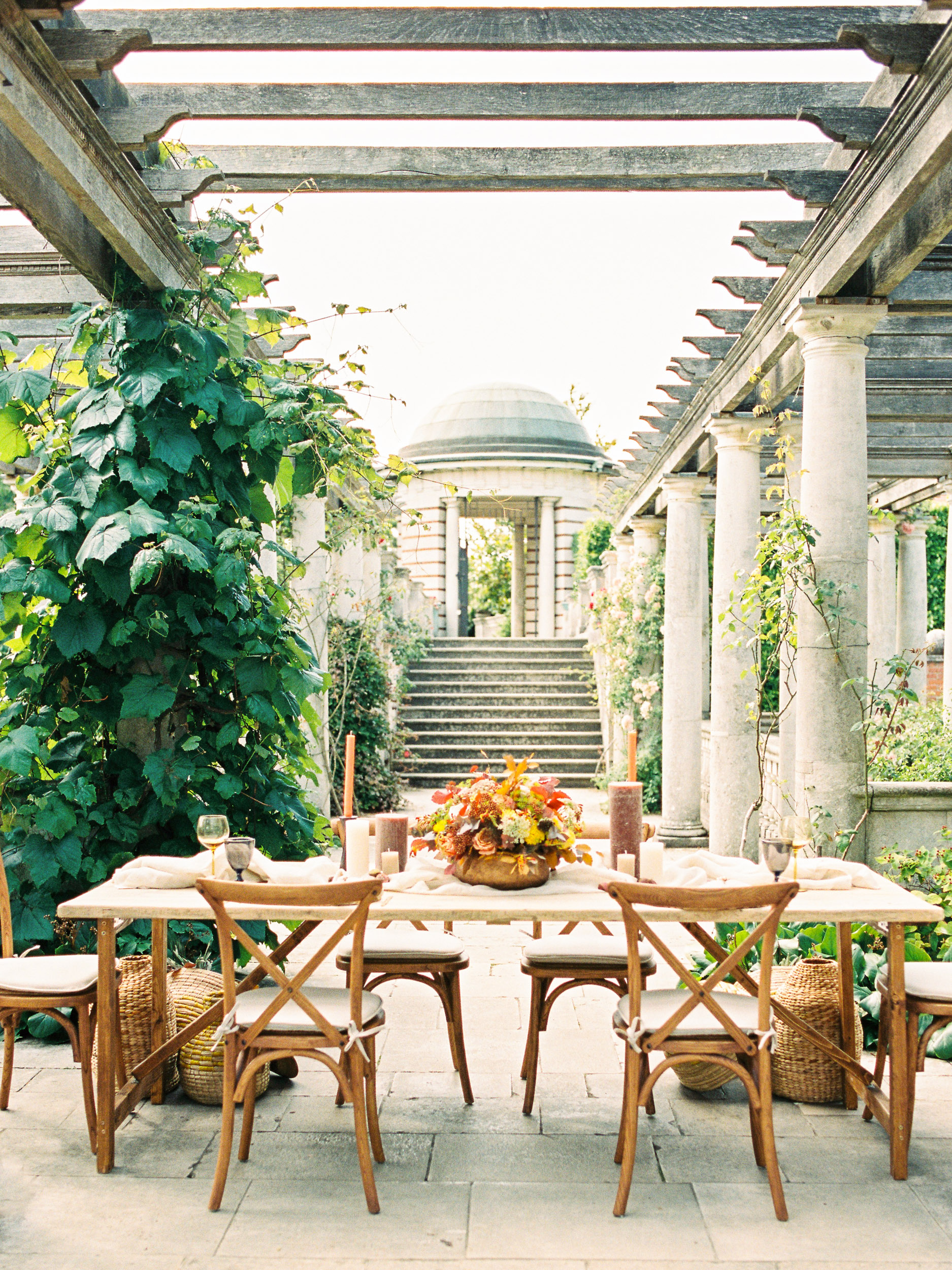 Amy O'Boyle Photography- Destination & UK Fine Art Film Wedding Photographer- The Pergola and Hill Garden Wedding-32.jpg