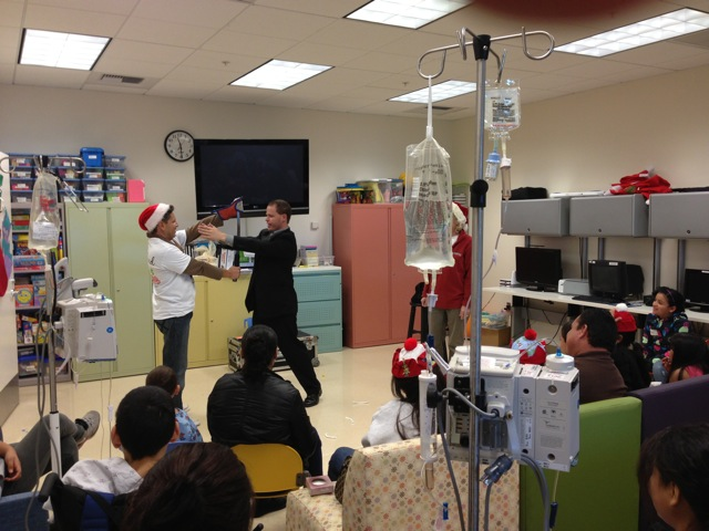 Performing at Millers Children's Hospital