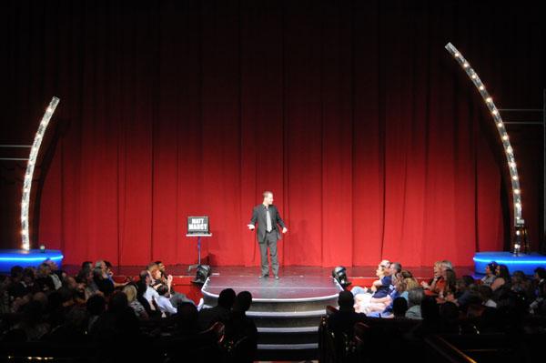 Performing at the Flamingo in Las Vegas