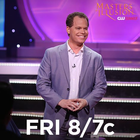 """Promo Shot for """"Masters of Illusion"""""""