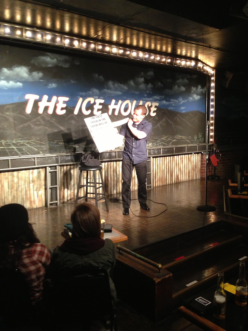 Yucking It Up at The Ice House