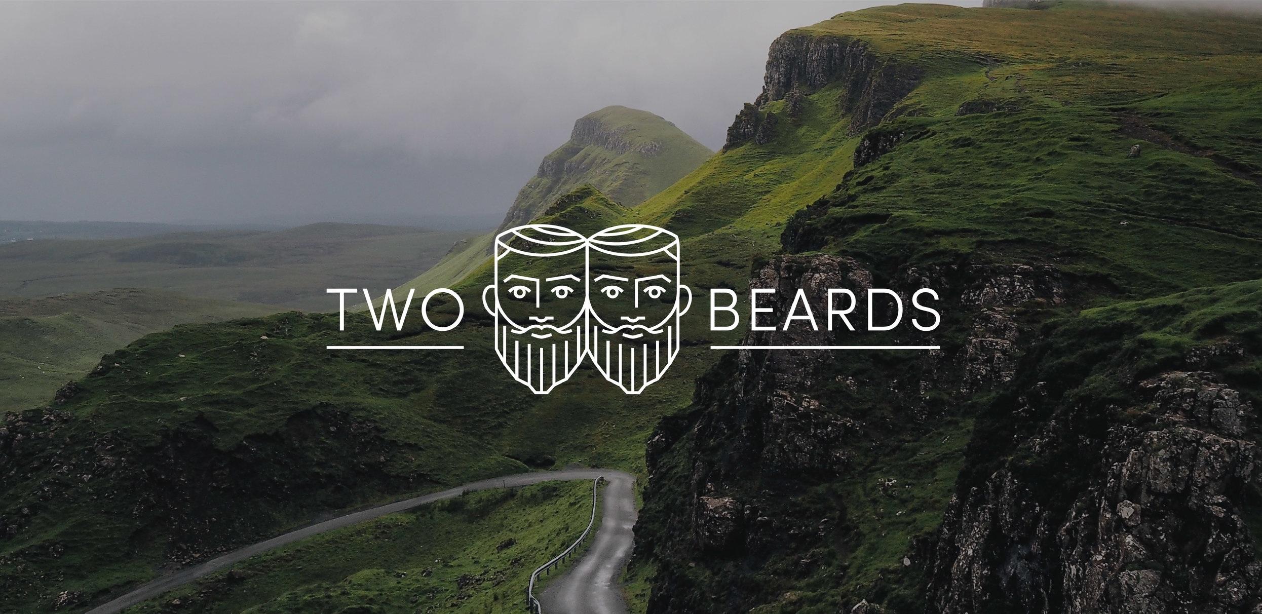 Branding for a bearded entrepreneur duo.