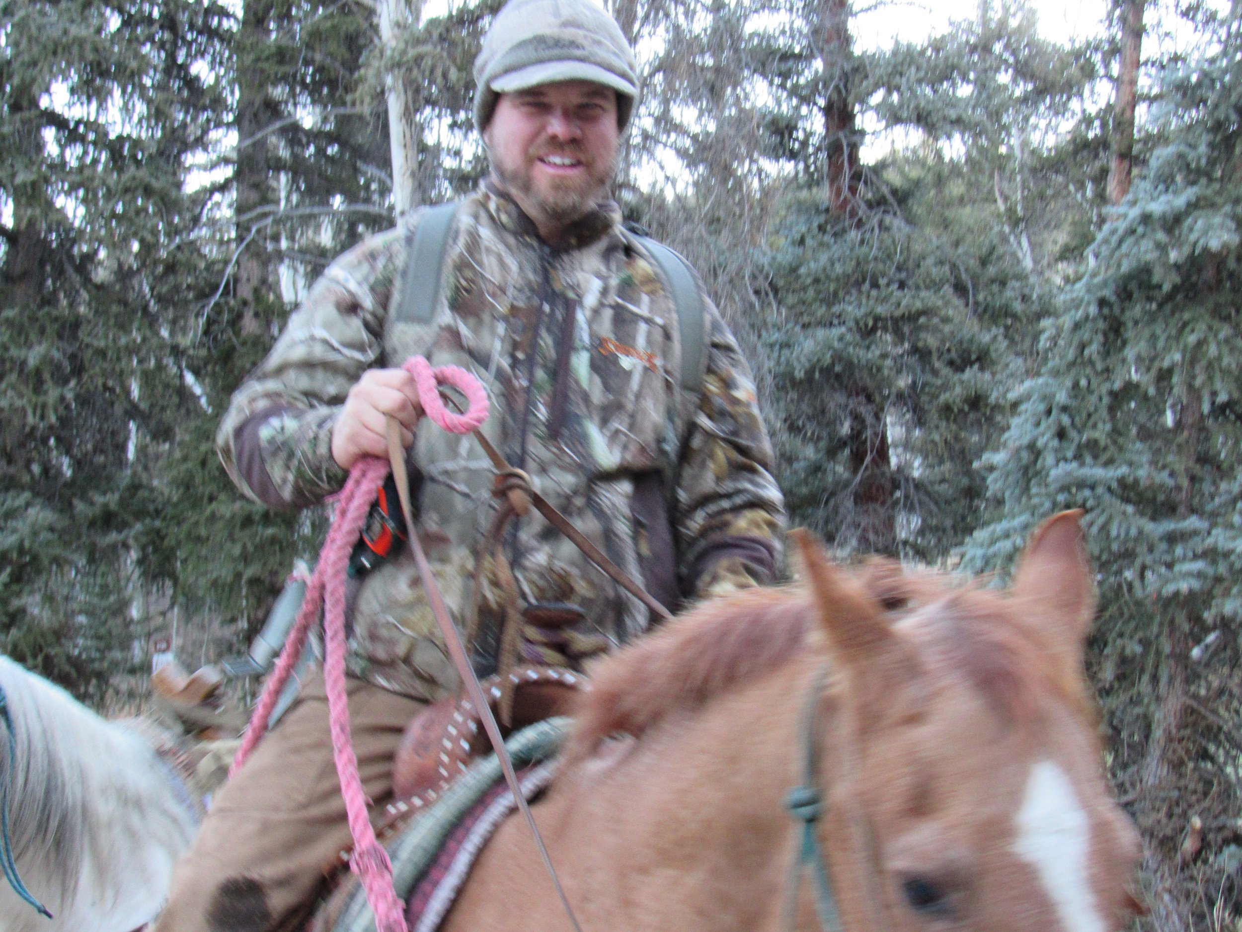 Scott - Scott passion for hunting has taken him around the world. But his  true love is chasing big bulls above tree line.  Calling in elk or sitting until last light  Scott will get you in with the game.