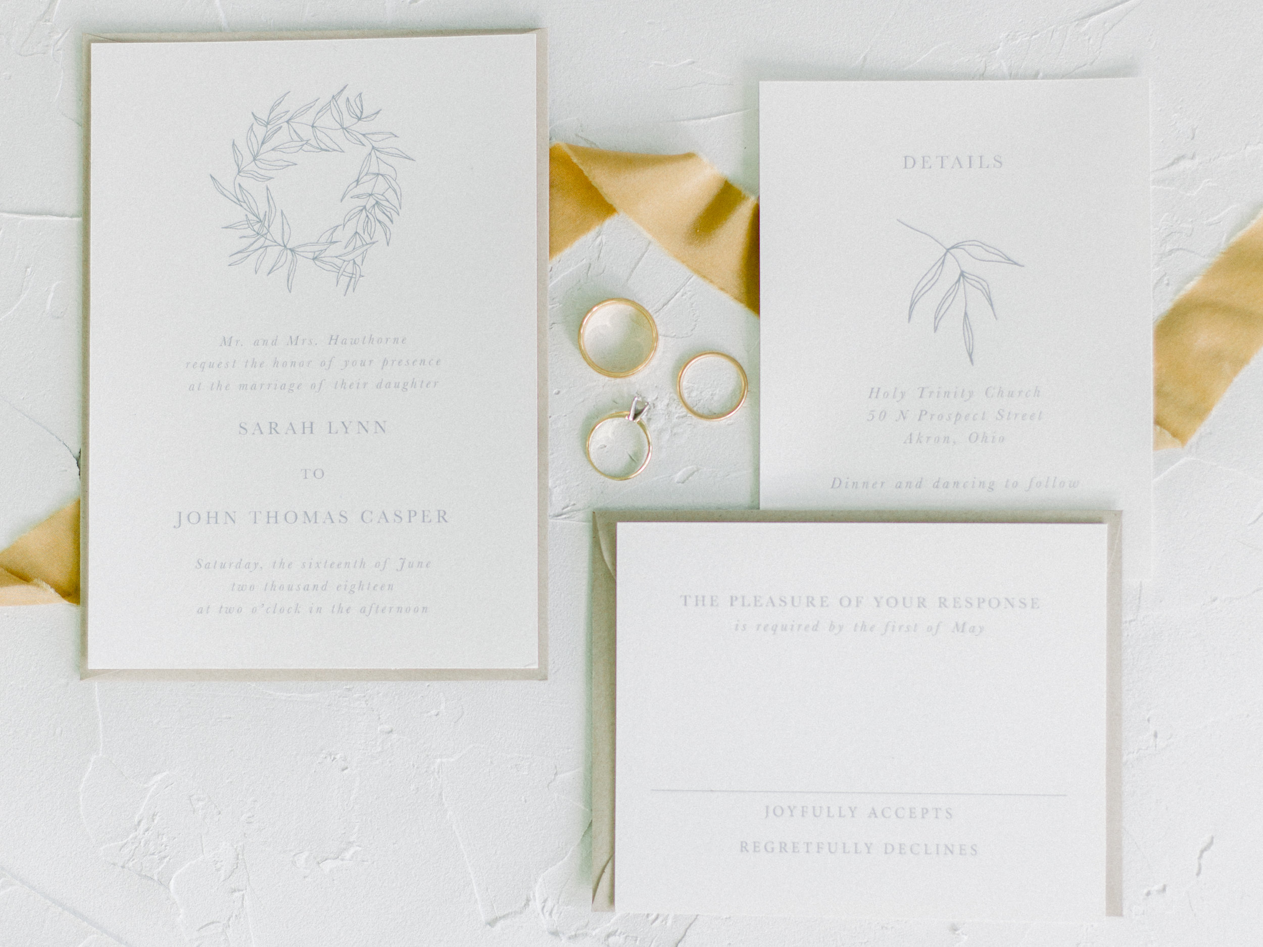 when to send your wedding invitations - with the hand letter shop