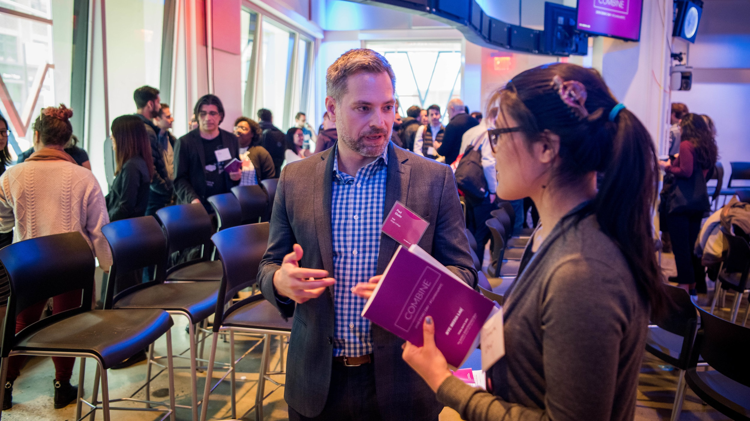 Create Opportunities - Connect Combine teams to additional resources (potential first customers, VC introductions, pitch competitions, later-stage accelerator programs, etc) in NYC's digital media and technology ecosystem.