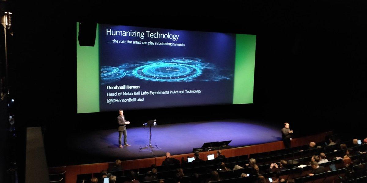 Watch: Domhnaill Hernon, Humanising Technology