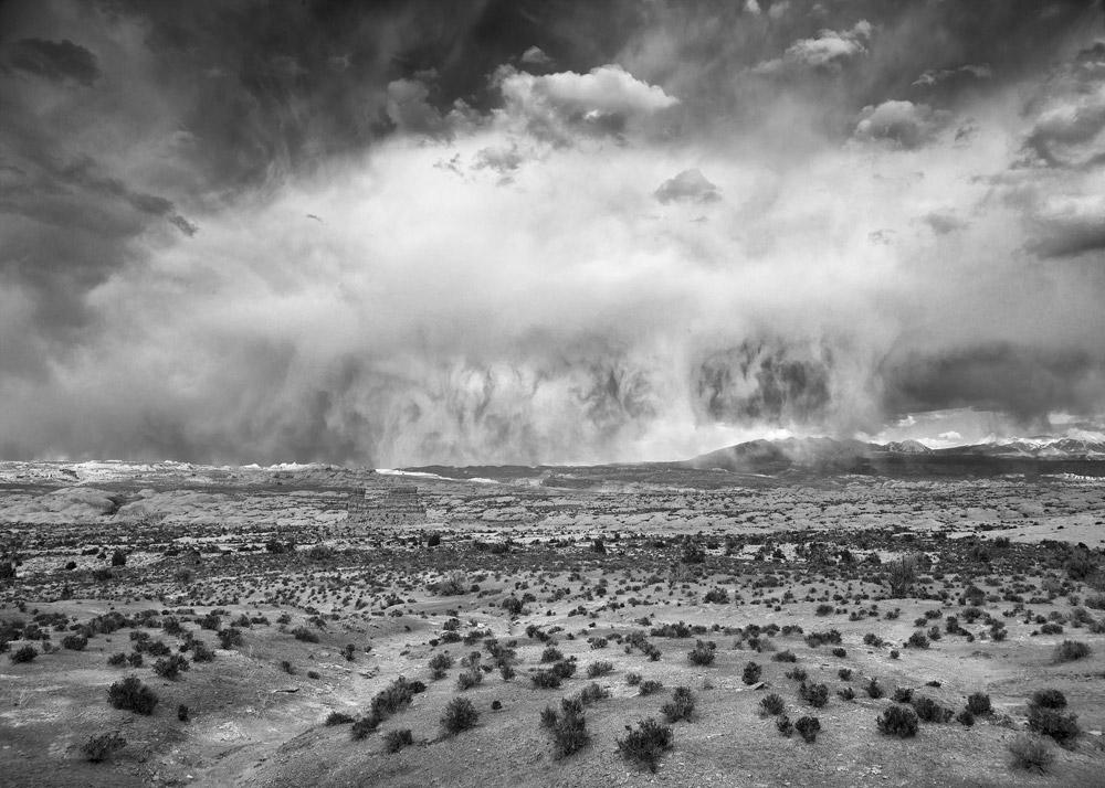 Thunderstorm, Southern Utah, 2010