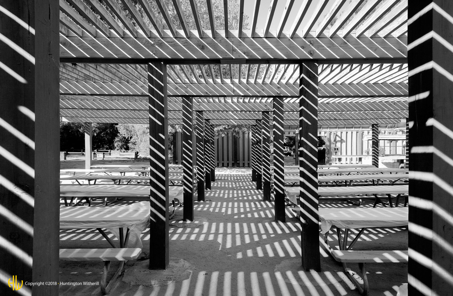 Picnic Tables, San Lorenzo County Park, CA, 2006
