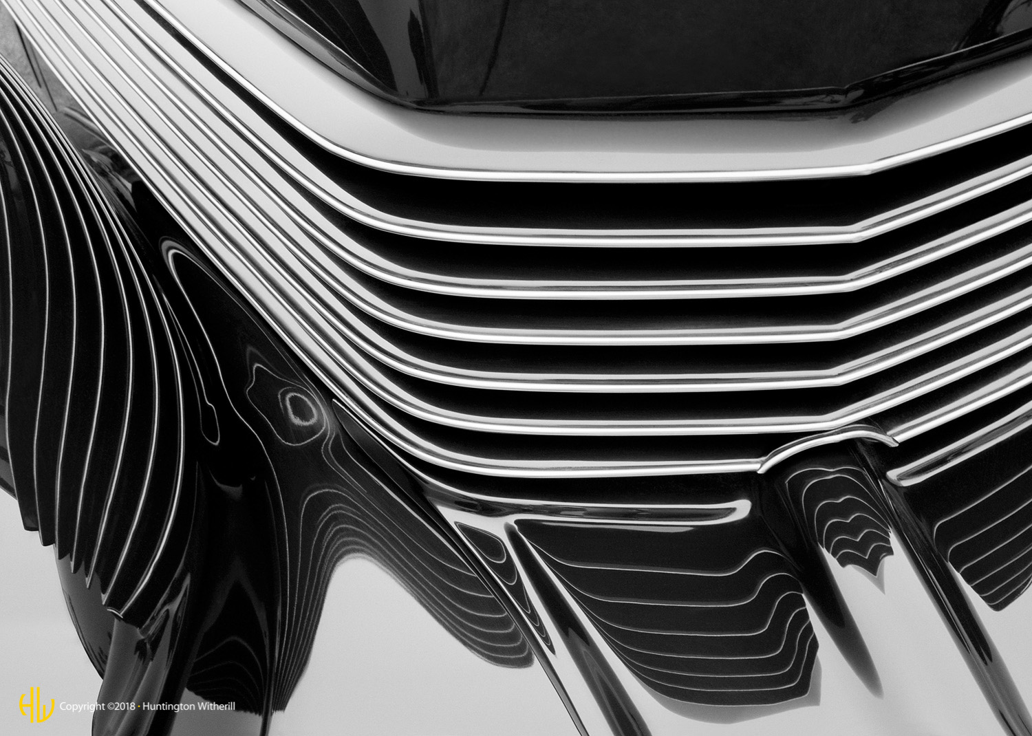 Grille Detail, 1937 Cord, 1999