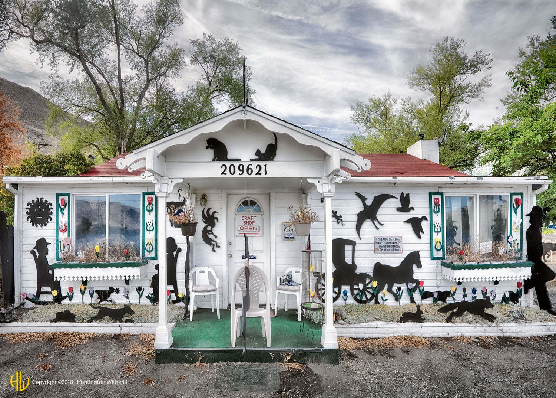 Silhouette House, Mono County, CA, 2015 (c)