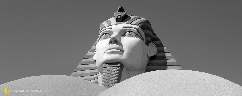 Sphinx, Luxor, Las Vegas, NV, 2004