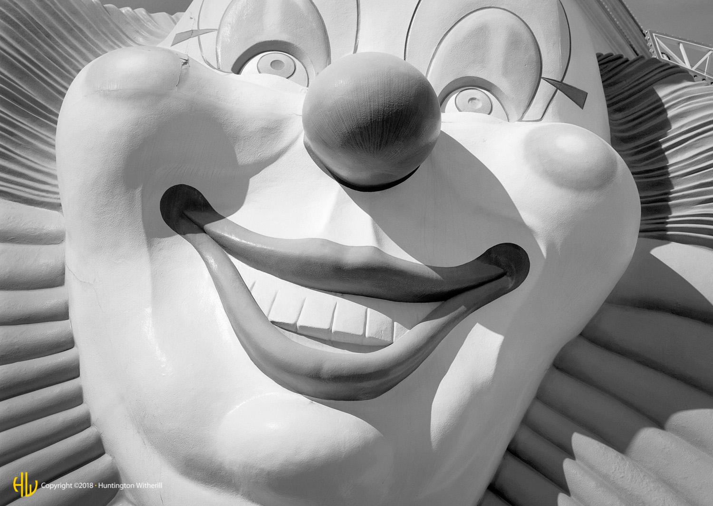 Clown, Las Vegas, NV, 1998