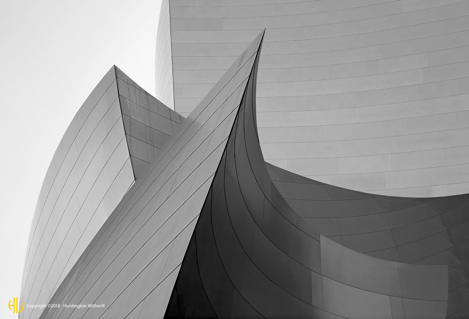 Disney Hall #3, Los Angeles, CA, 2004