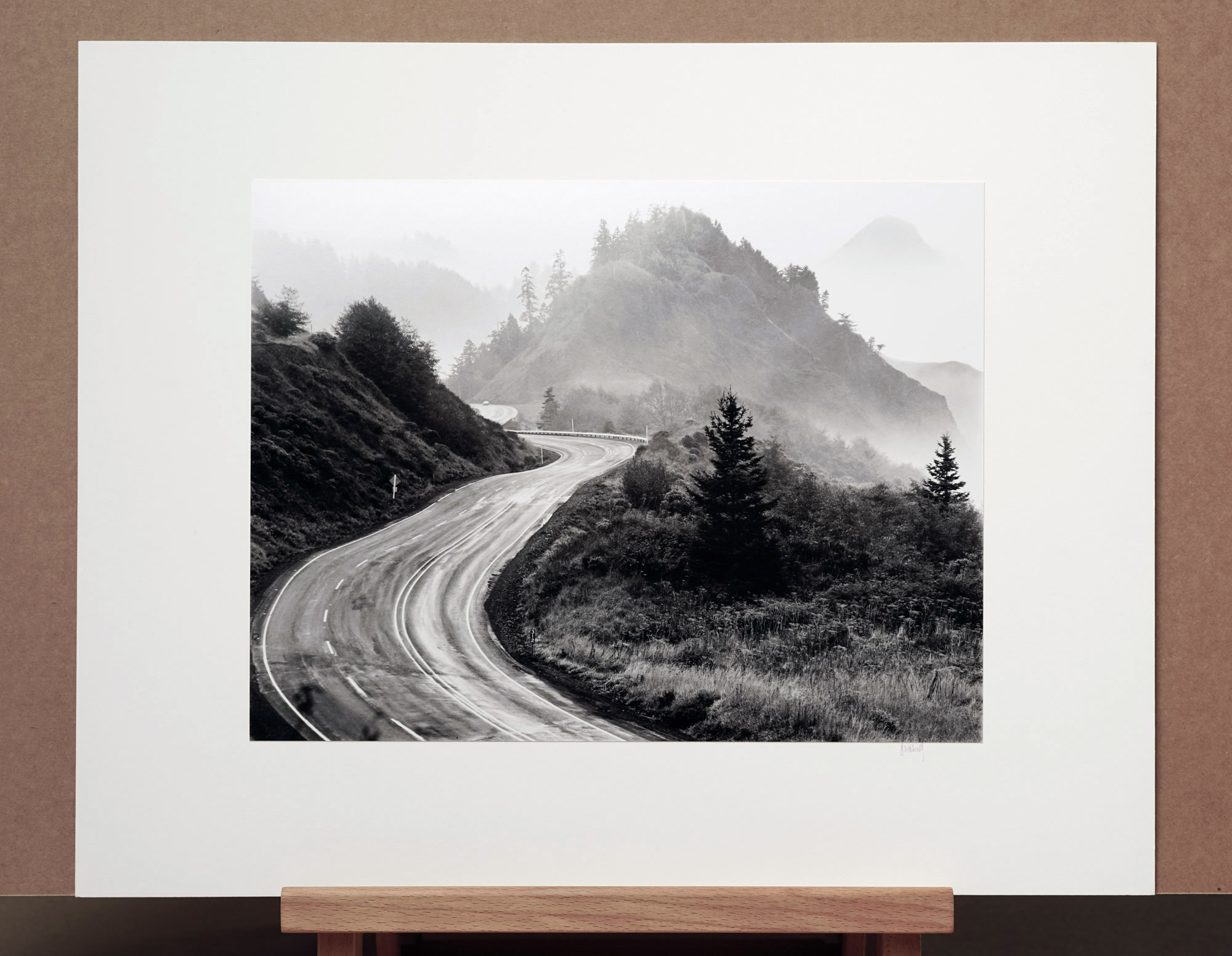 Route 101, Oregon, 1975 - 11x14