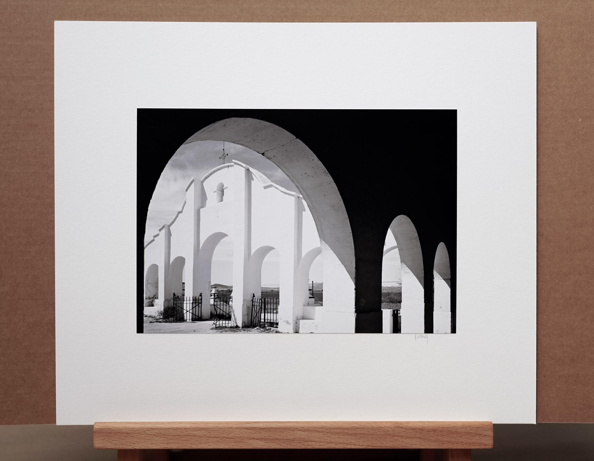 Mission San Xavier del Bac, AZ, 1981 - 8x10