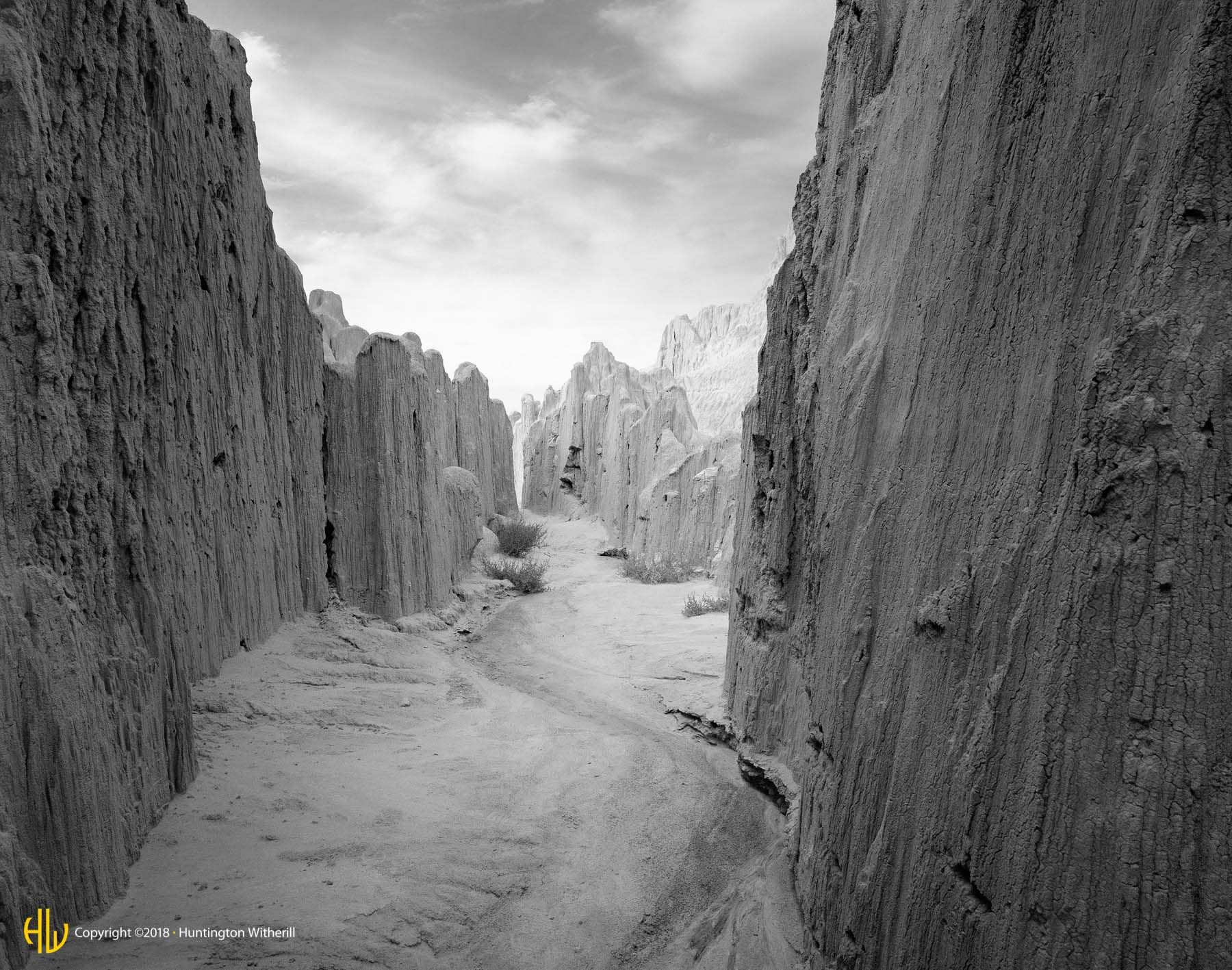 Cathedral Gorge, NV, 1999