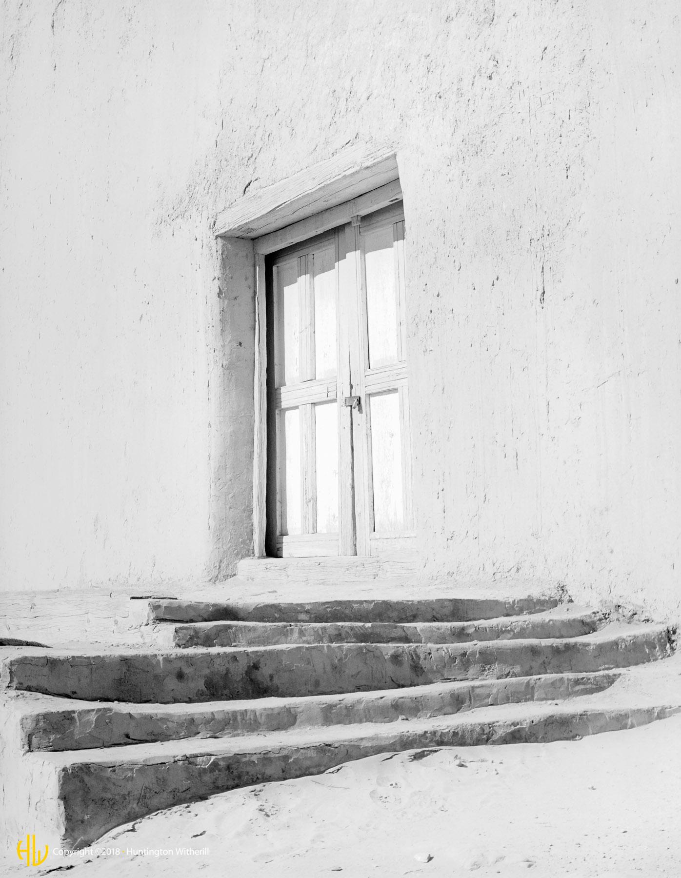 Mission Entrance, Acoma Pueblo, New Mexico, 1981