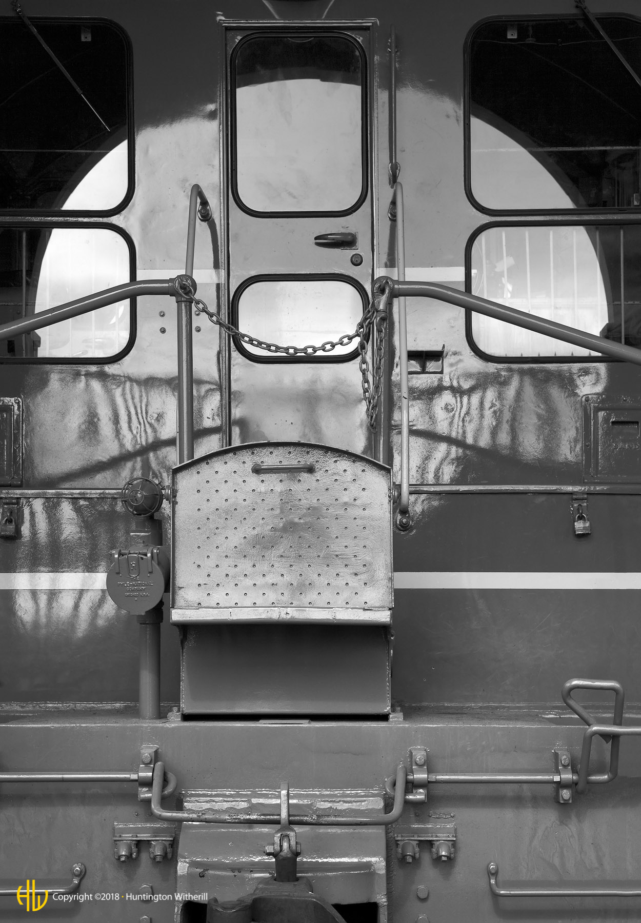 Diesel Locomotive, Sacramento, CA, 2007
