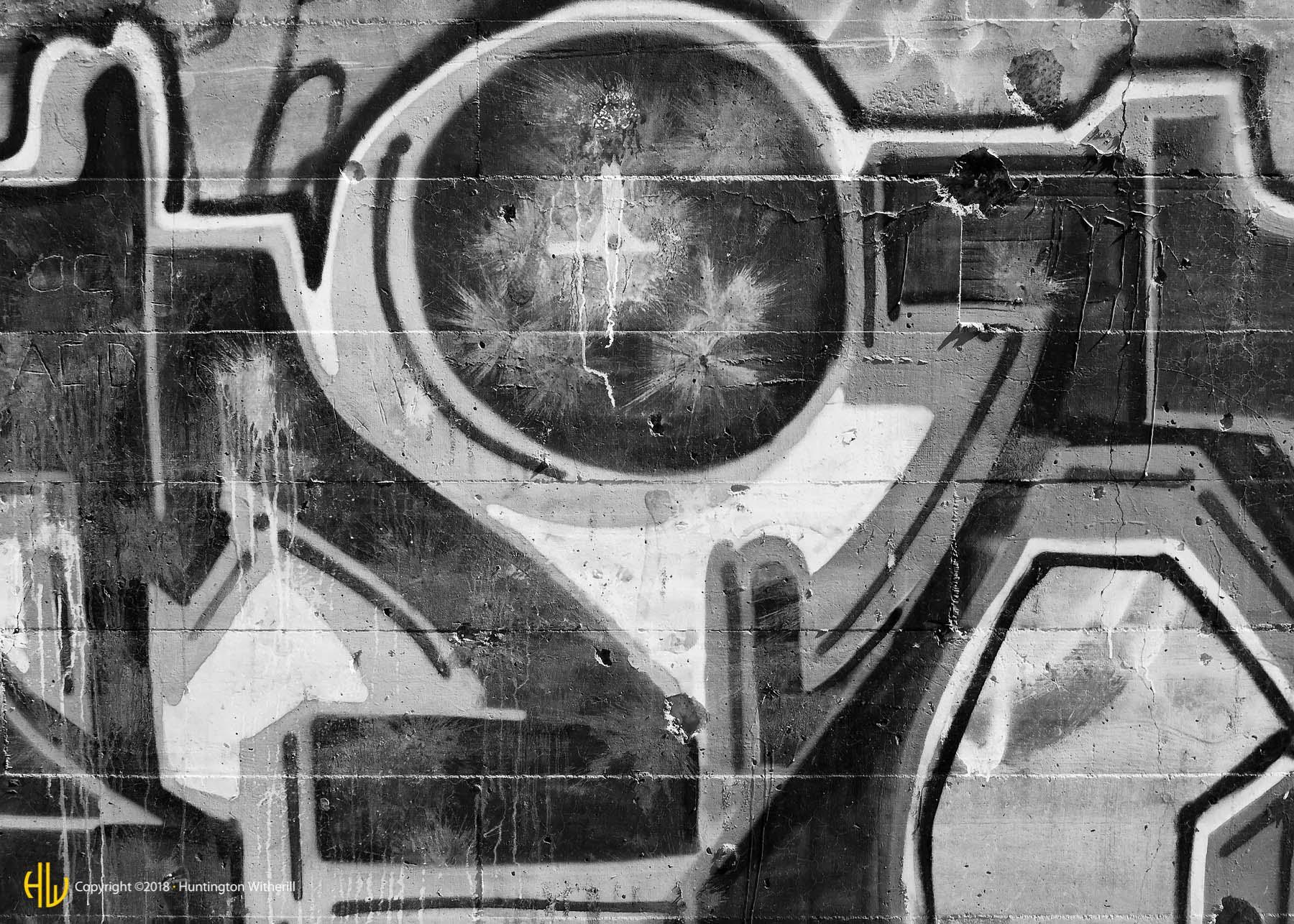 Graffiti, Carerra, NV, 2011