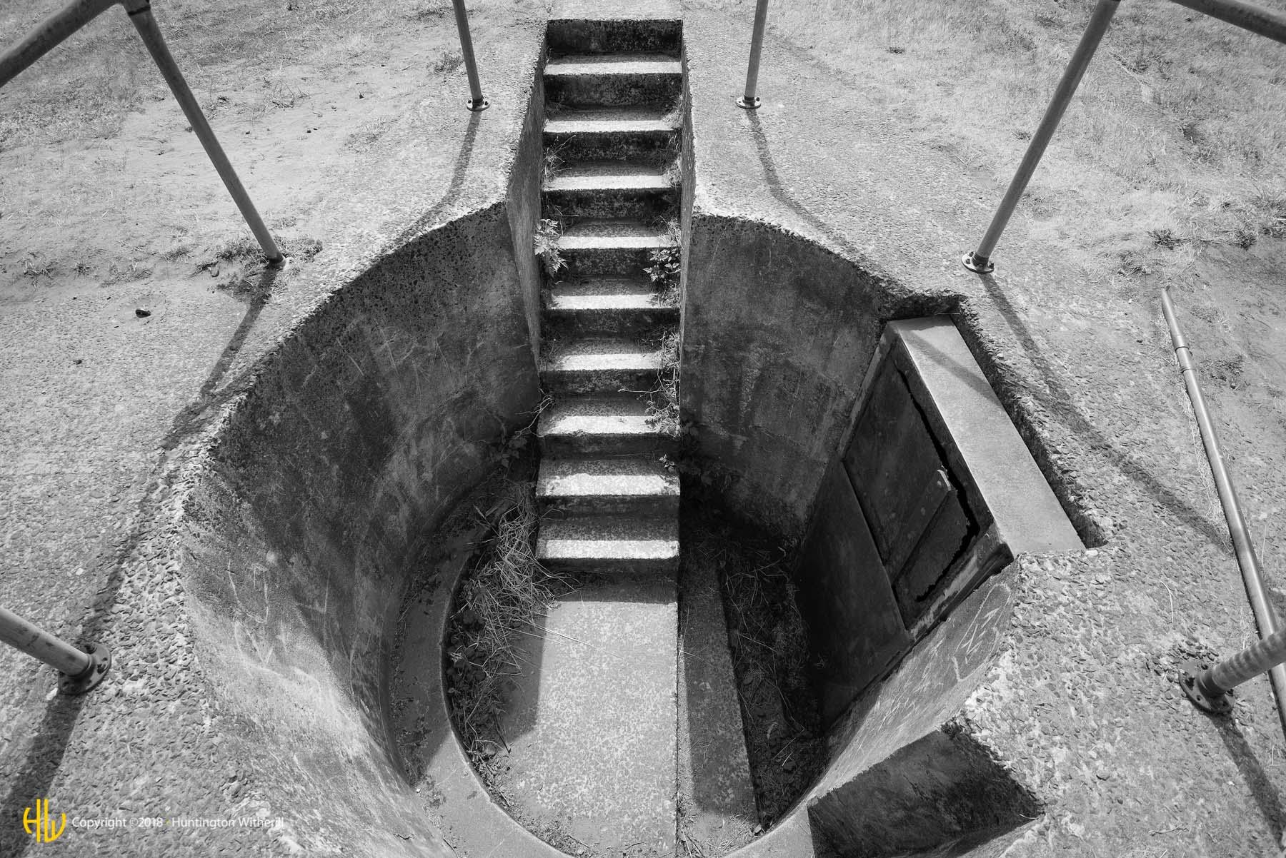 Stairway #1, Fort Stevens, OR, 2012