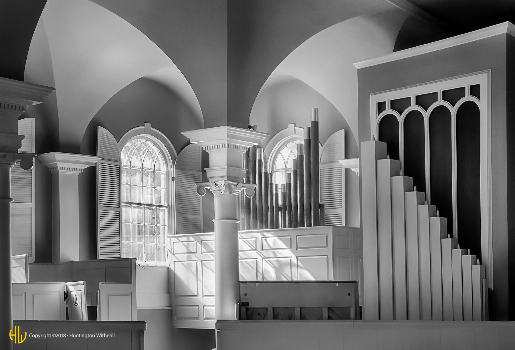 Church Interior, Bennington, VT, 2013