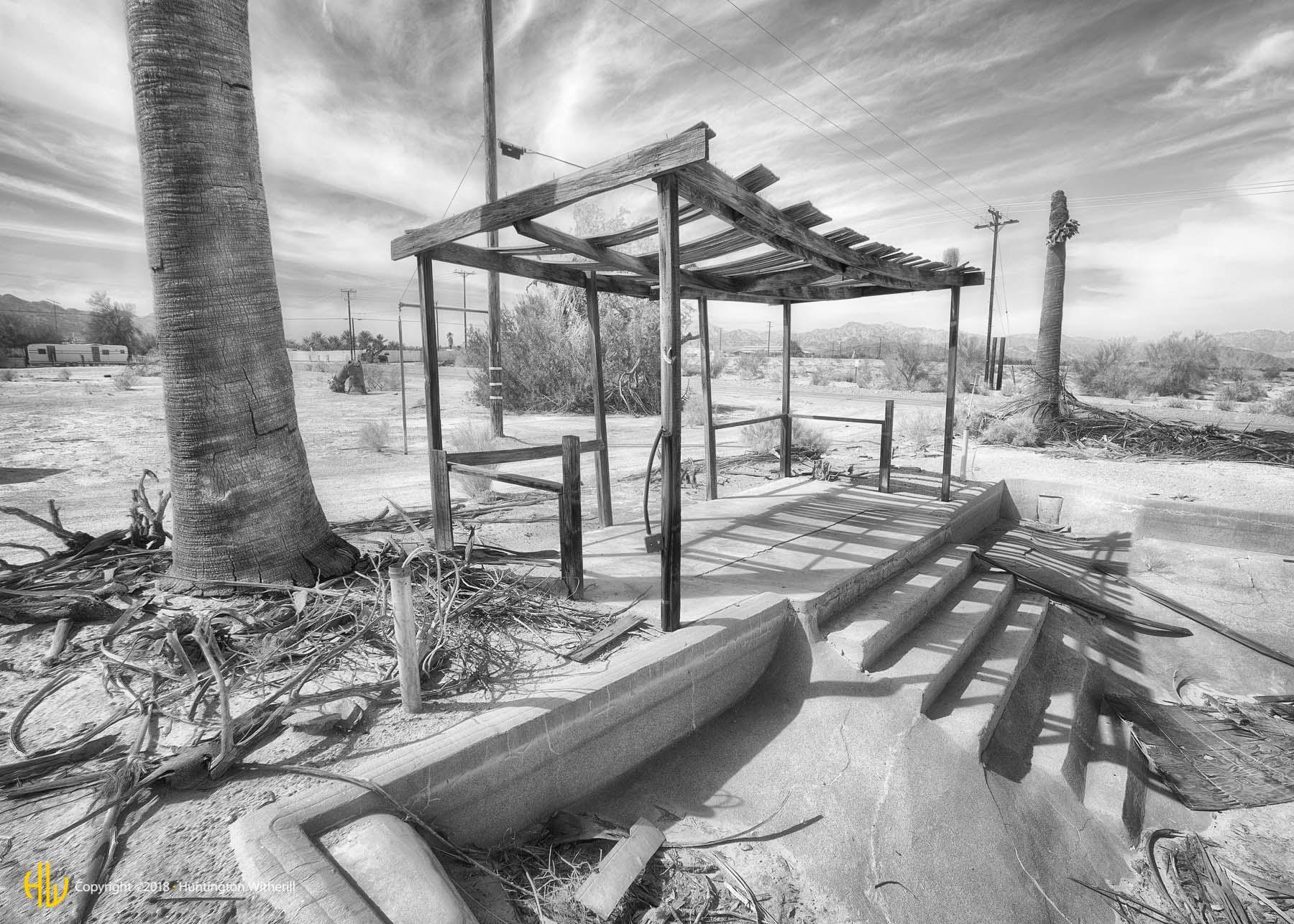 Abandoned Oasis, Desert Center, CA, 2016