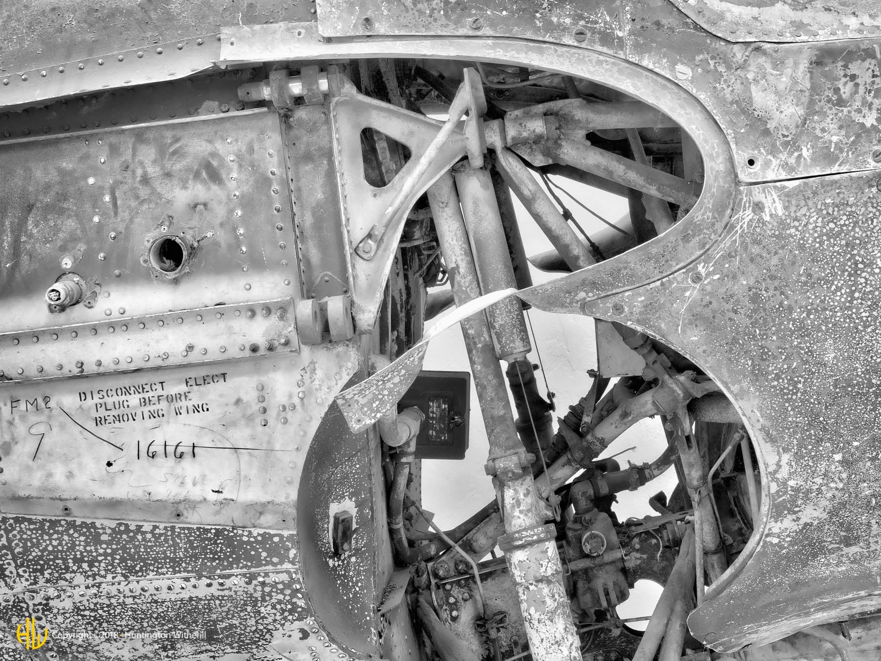 Airplane Skeleton #1, Tucson, AZ, 2008