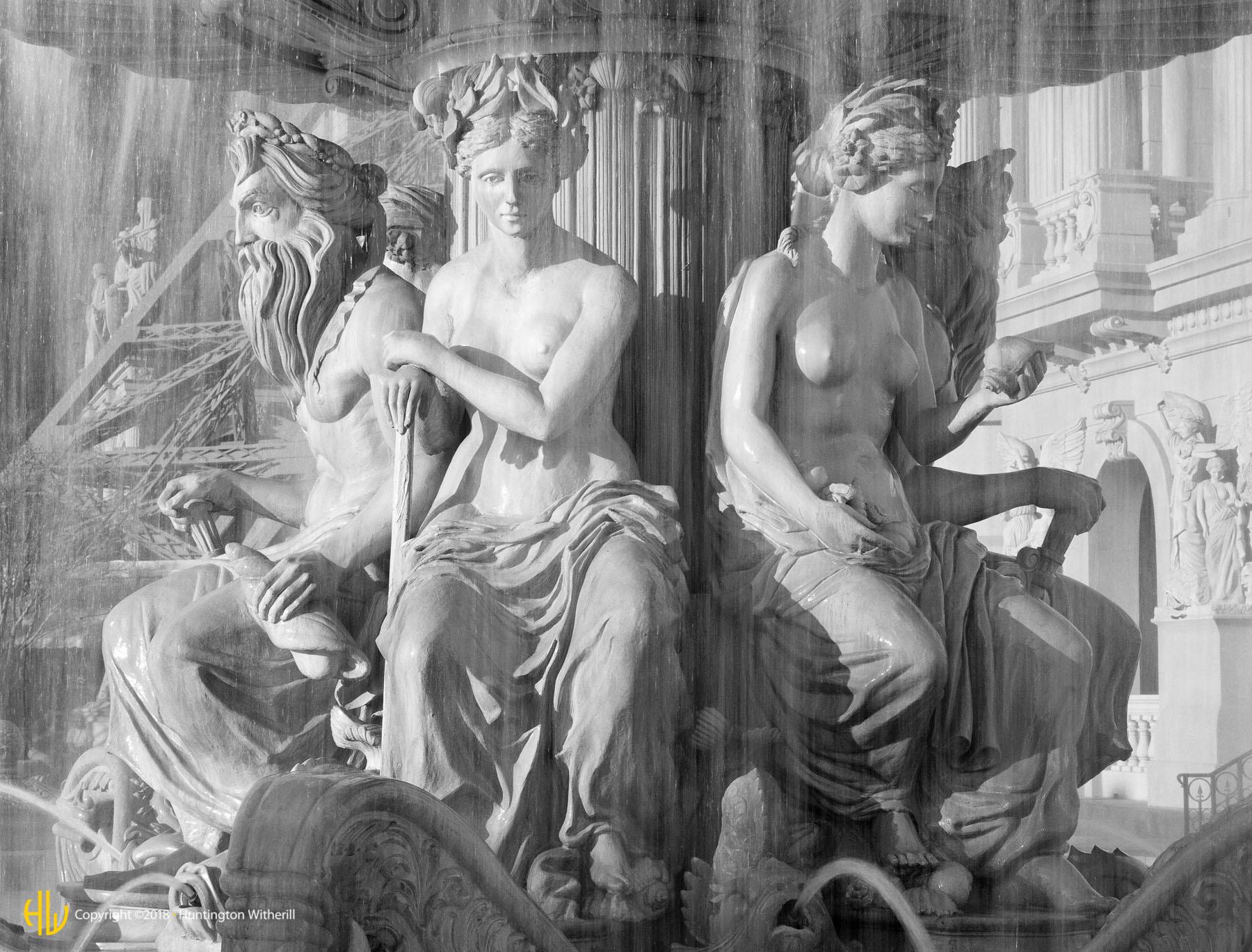 Fountain, Paris, Las Vegas, NV, 1999