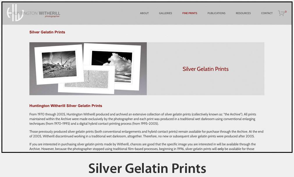 Silver Gelatin Prints