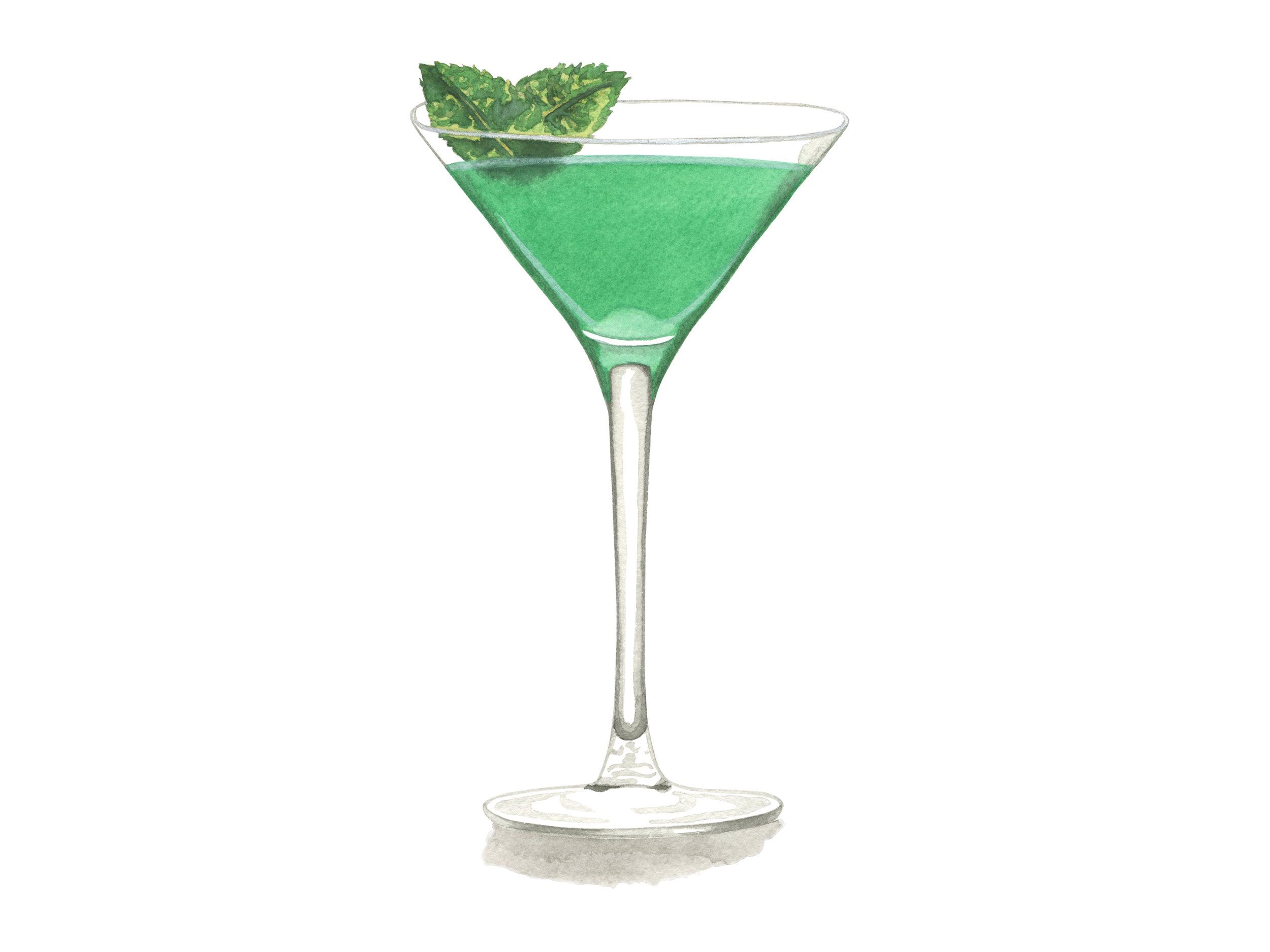 Grasshopper | Mid-Century Cocktail Series