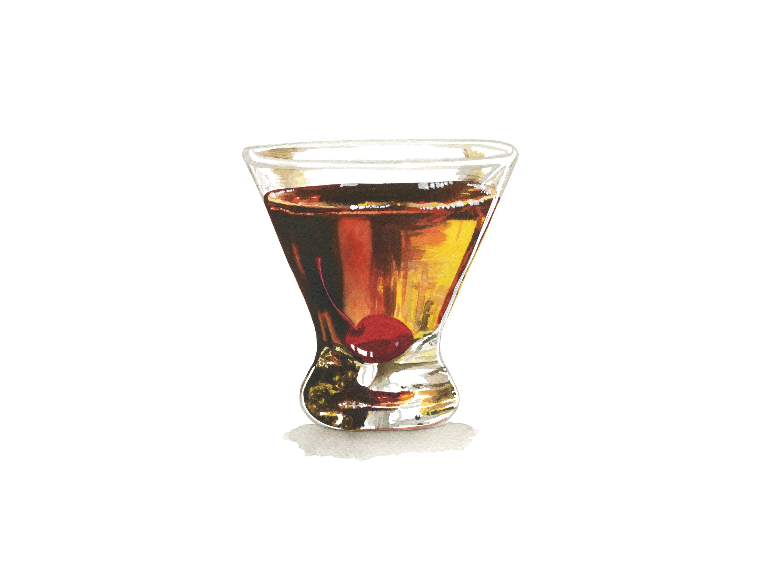 Manhattan | Mid-Century Cocktail Series