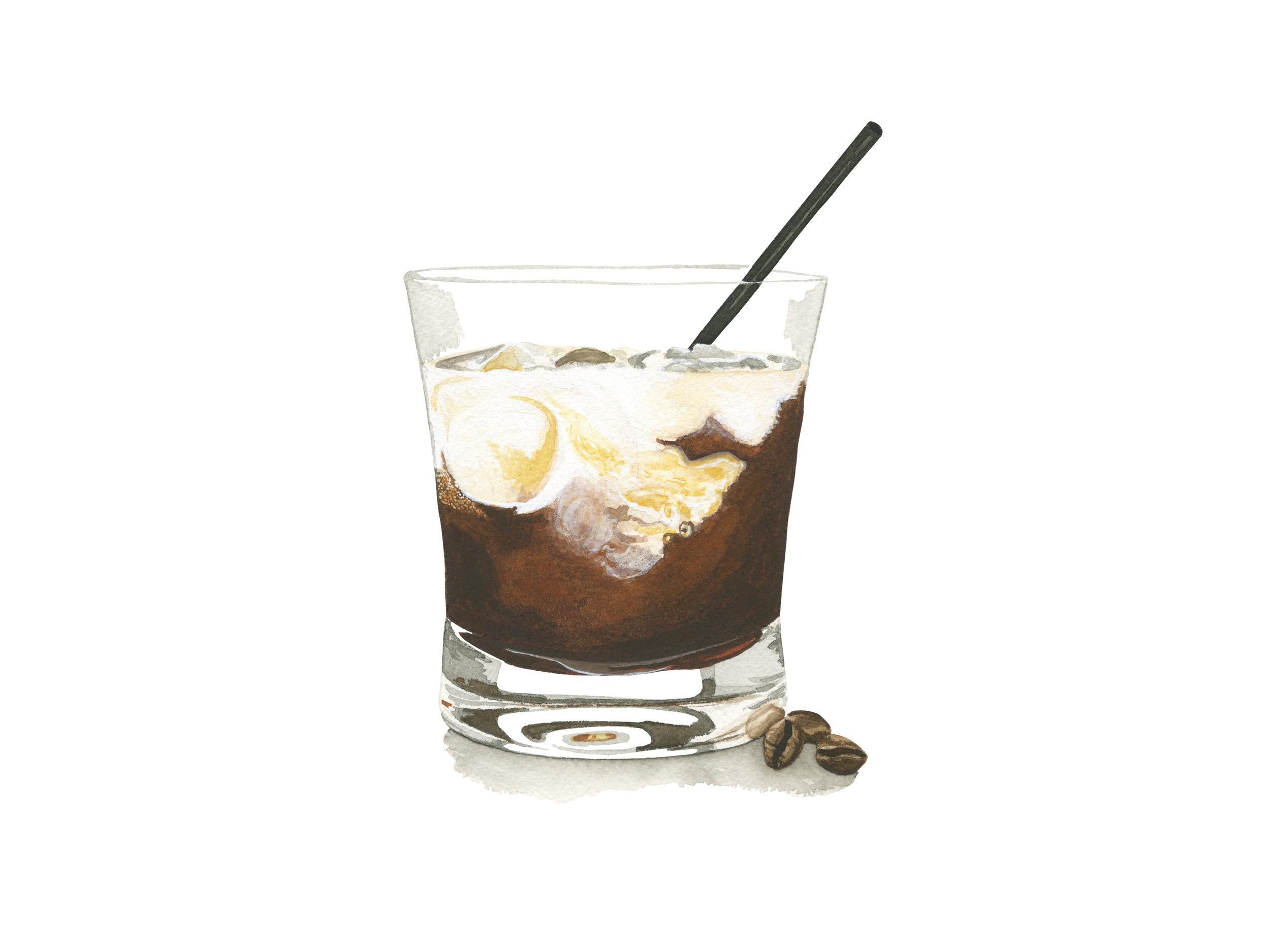 White Russian | Mid-Century Cocktail Series