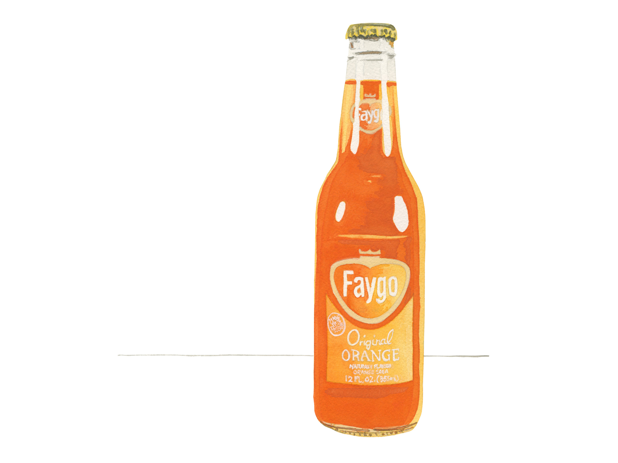 Faygo Orange Pop