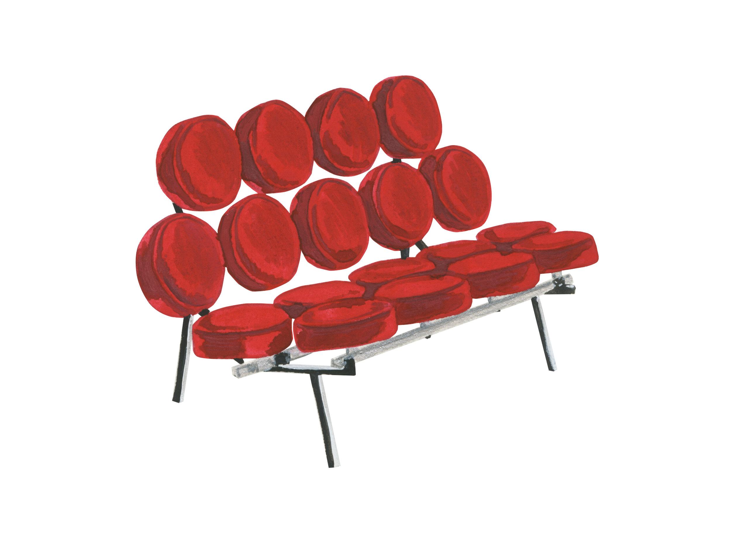 Marshmallow Chair | Mid-Century Chair Series