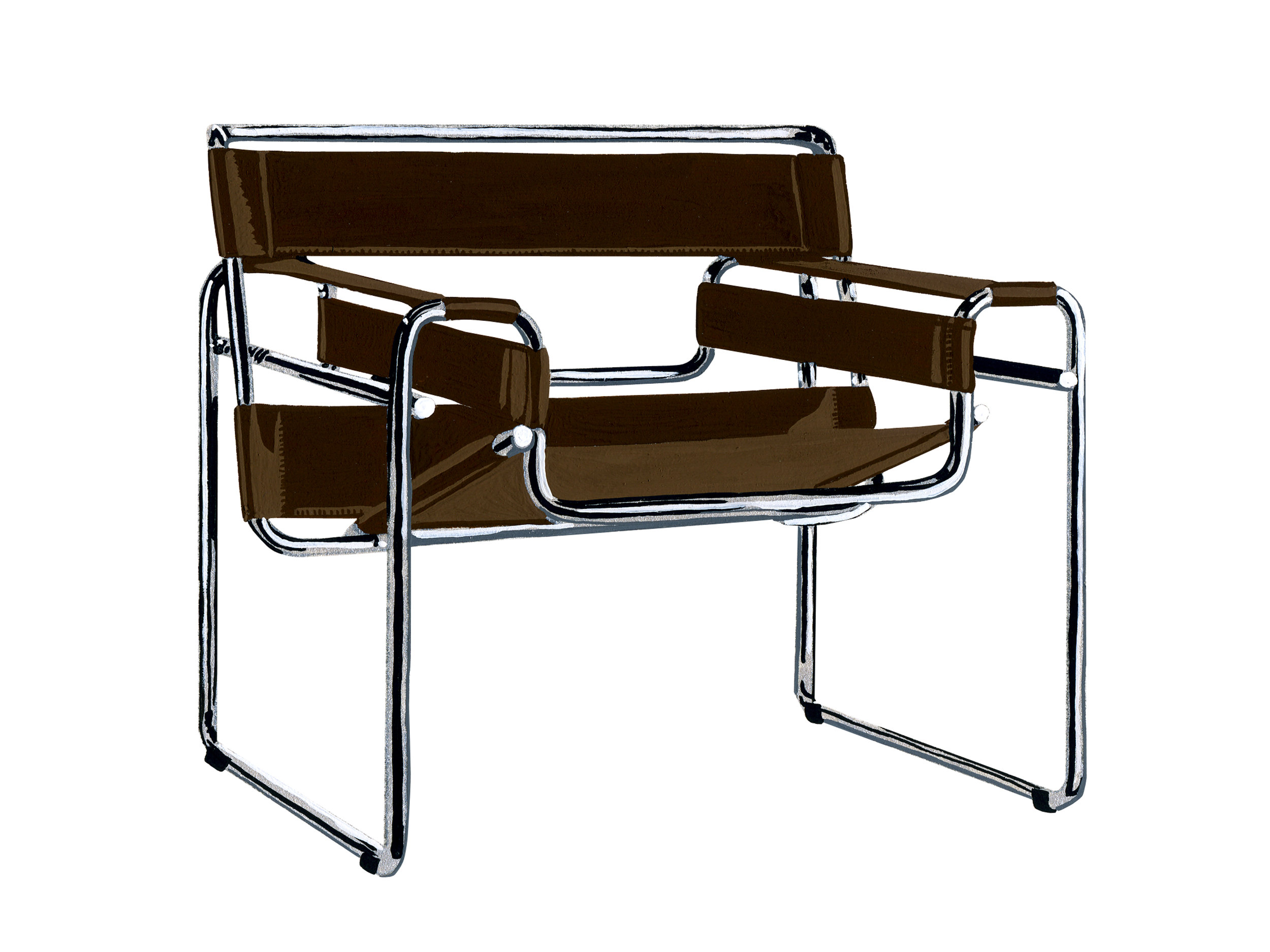 Wassily | Mid-Century Chair Series