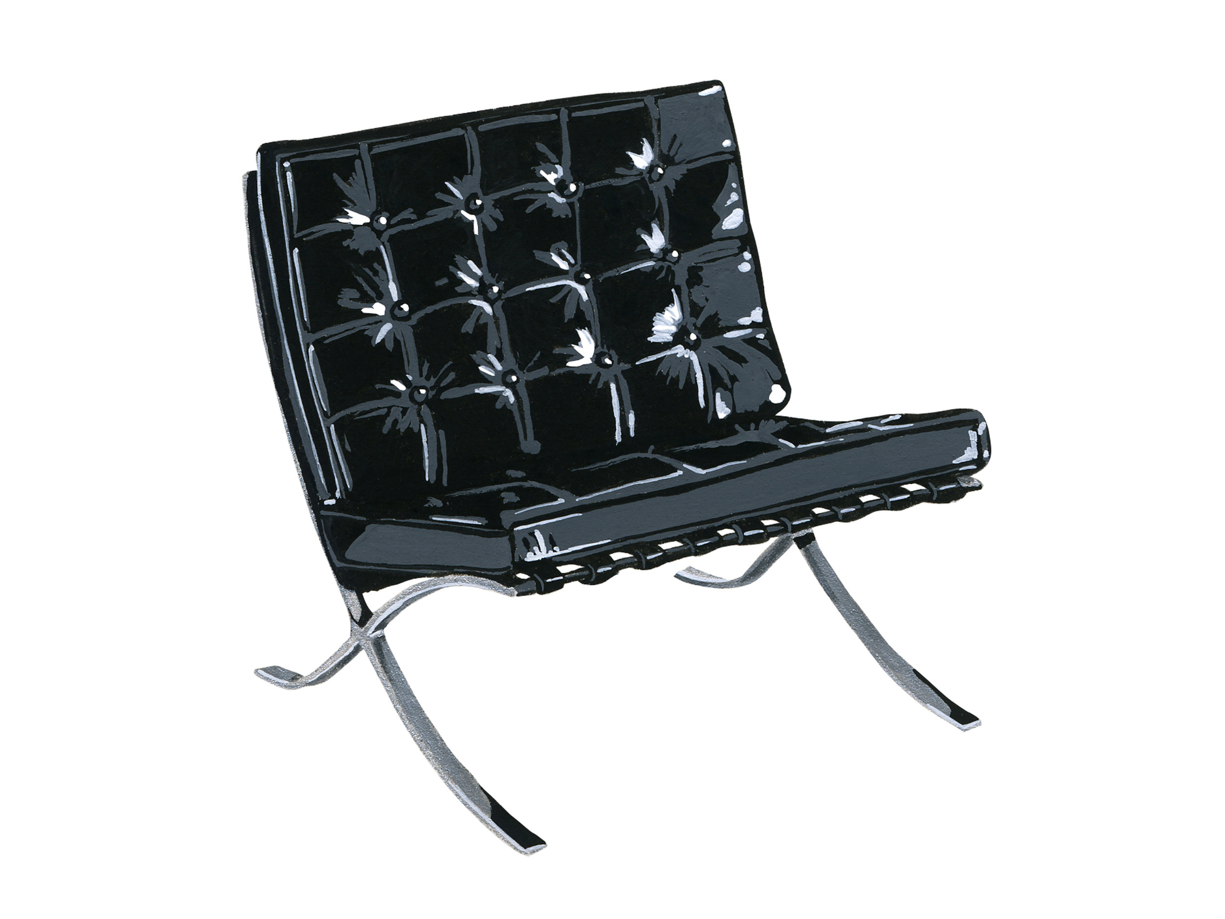 Barcelona |  Mid-Century Chair Series