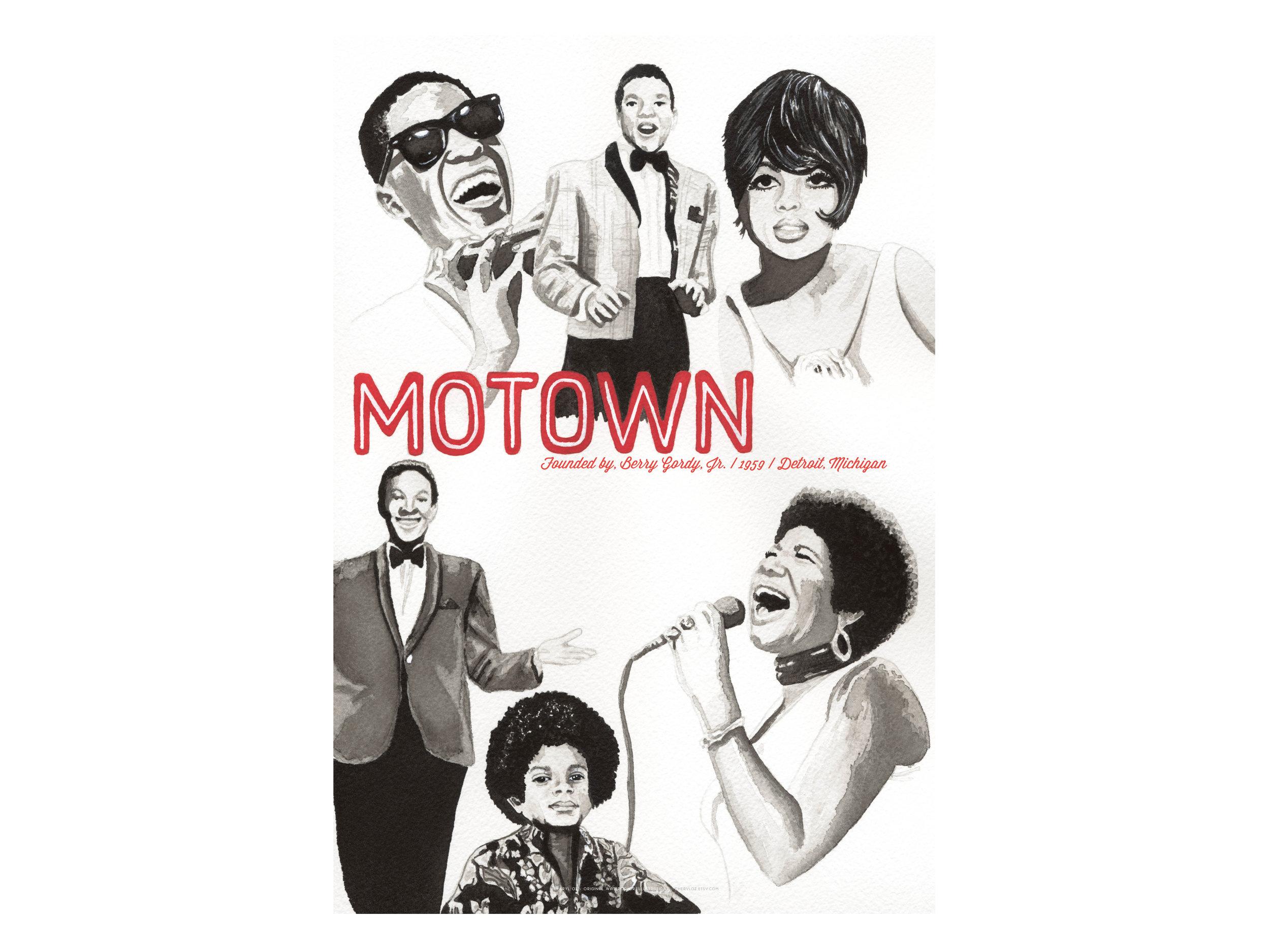 Motown Poster Design