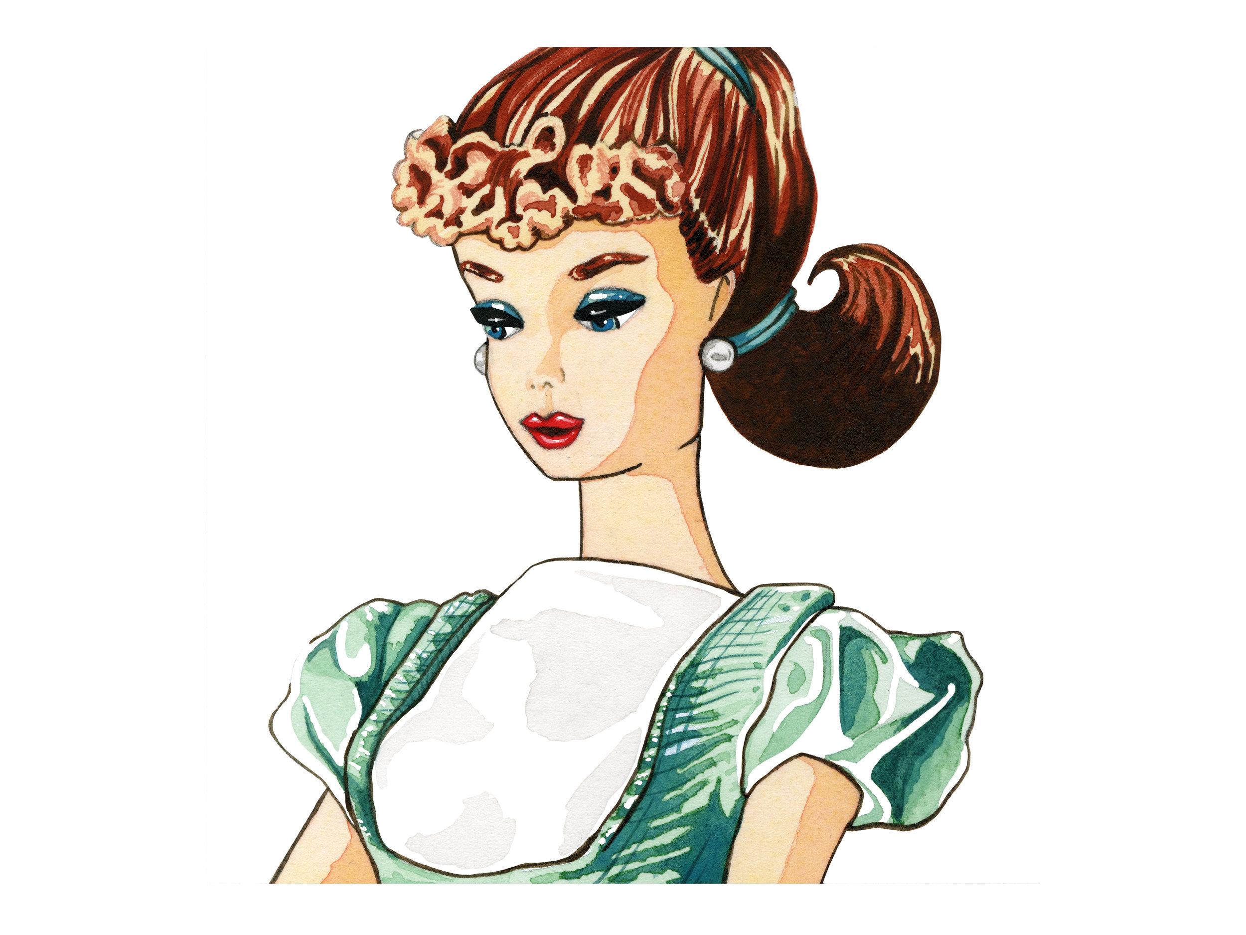 Aqua Dress | Vintage Barbie Collection