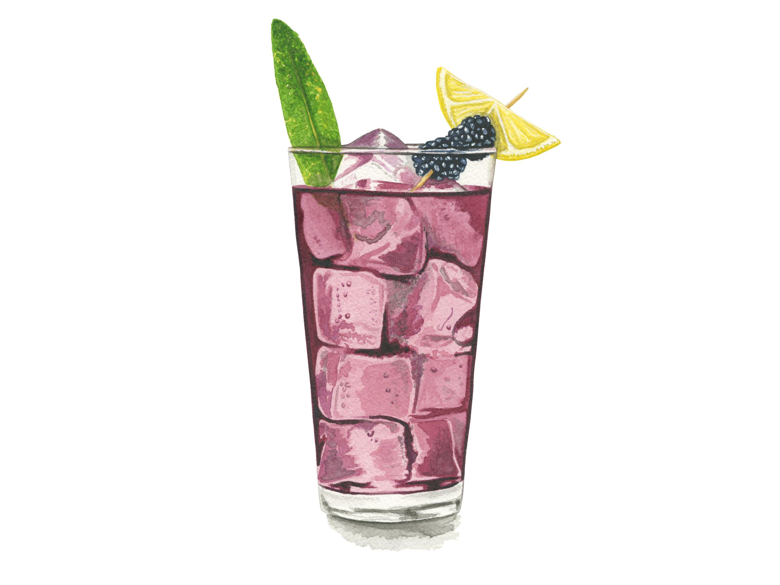 Blackberry Sage Lemonade | The Melting Pot