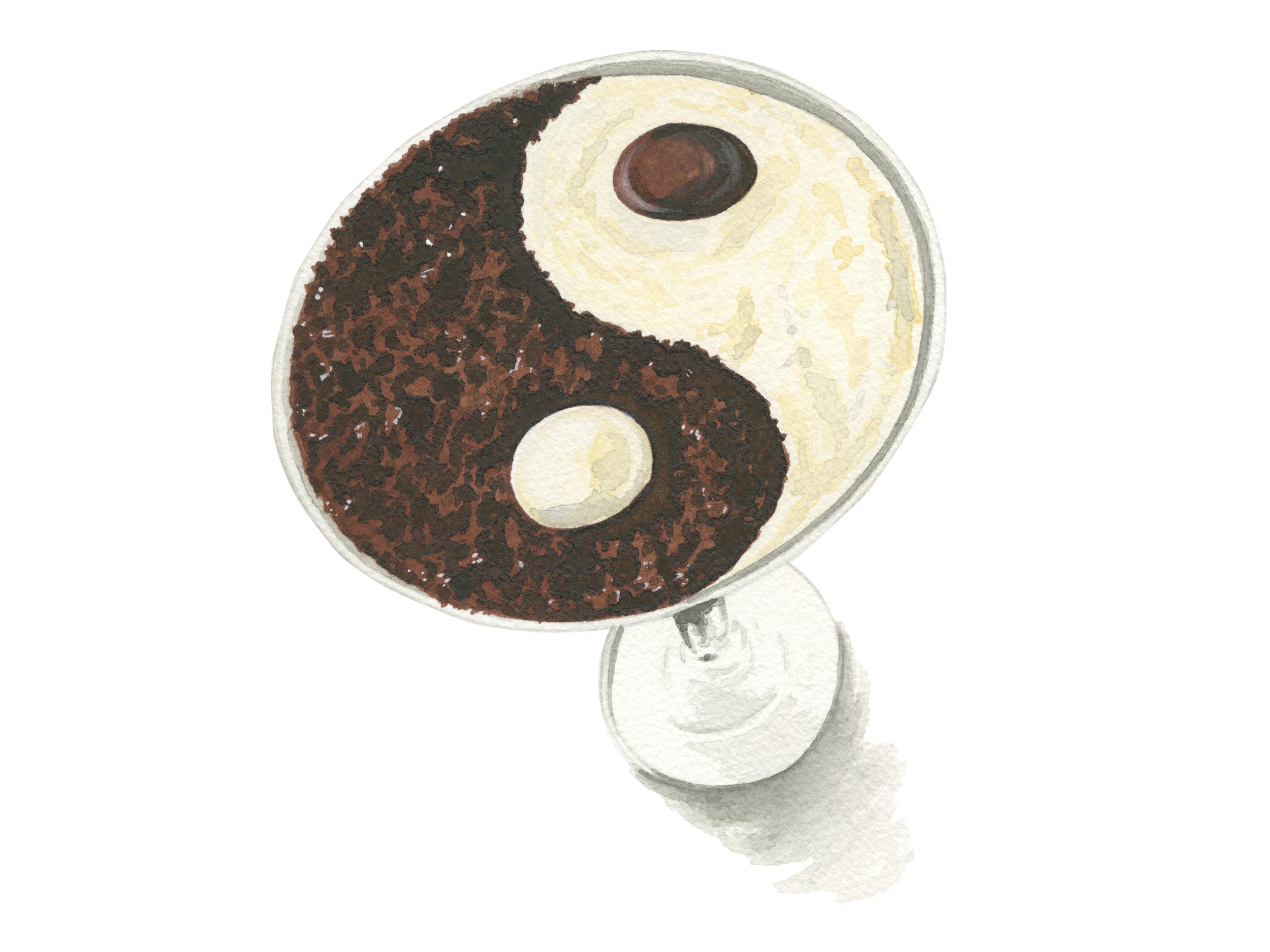 Yin Yang Martini | The Melting Pot