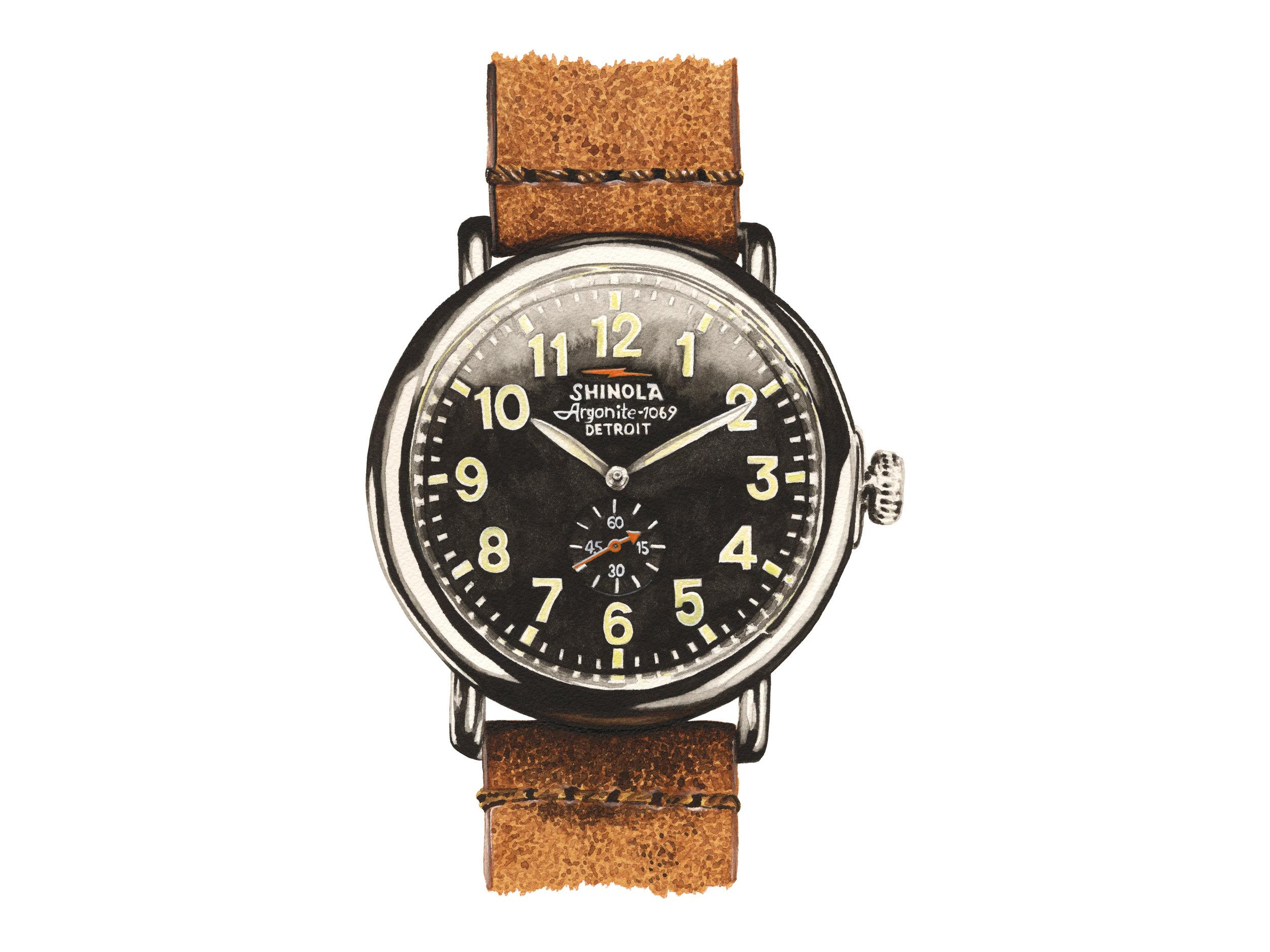 Shinola Watch | The Runwell