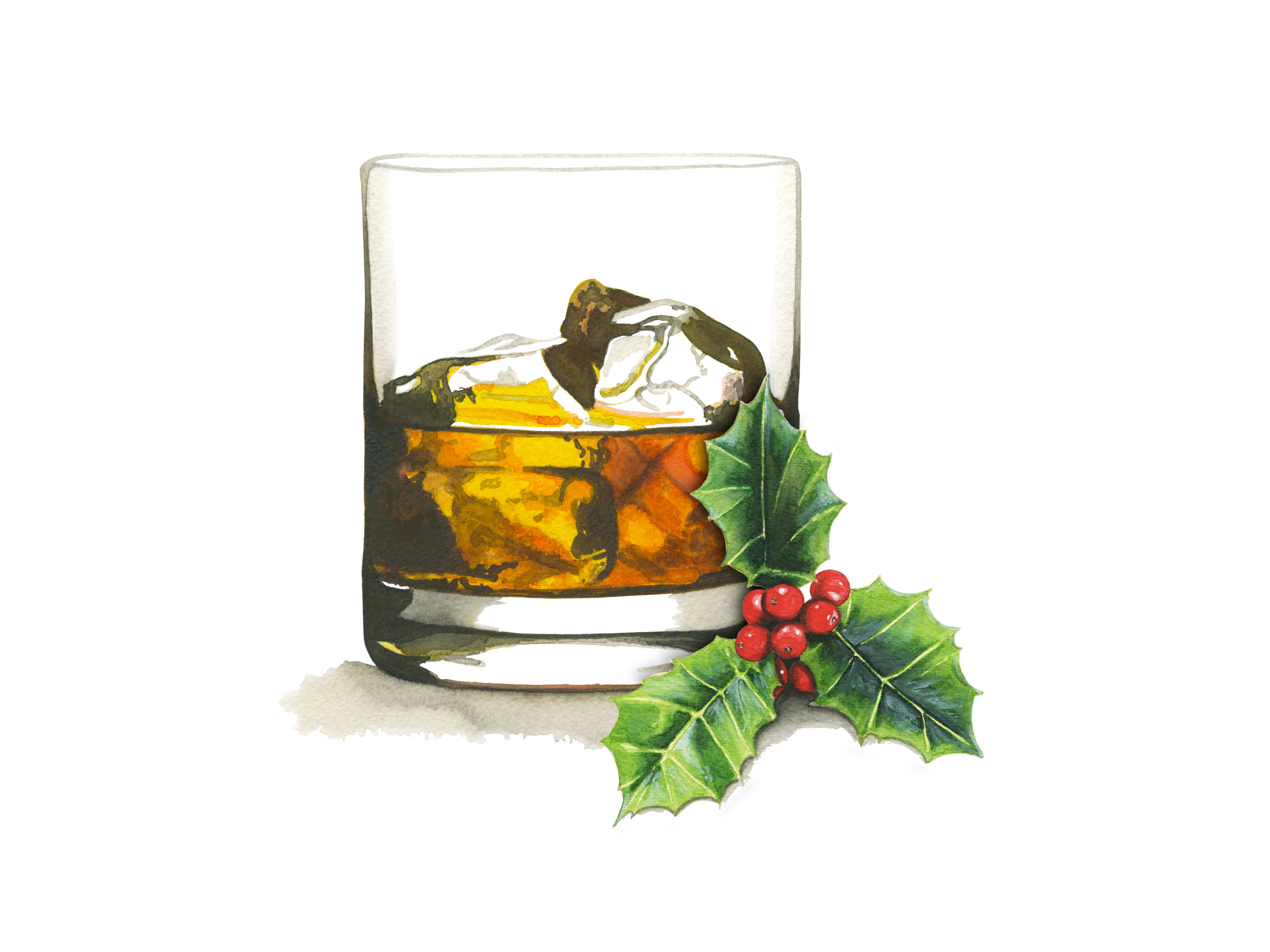 Old Fashioned Christmas Cocktail