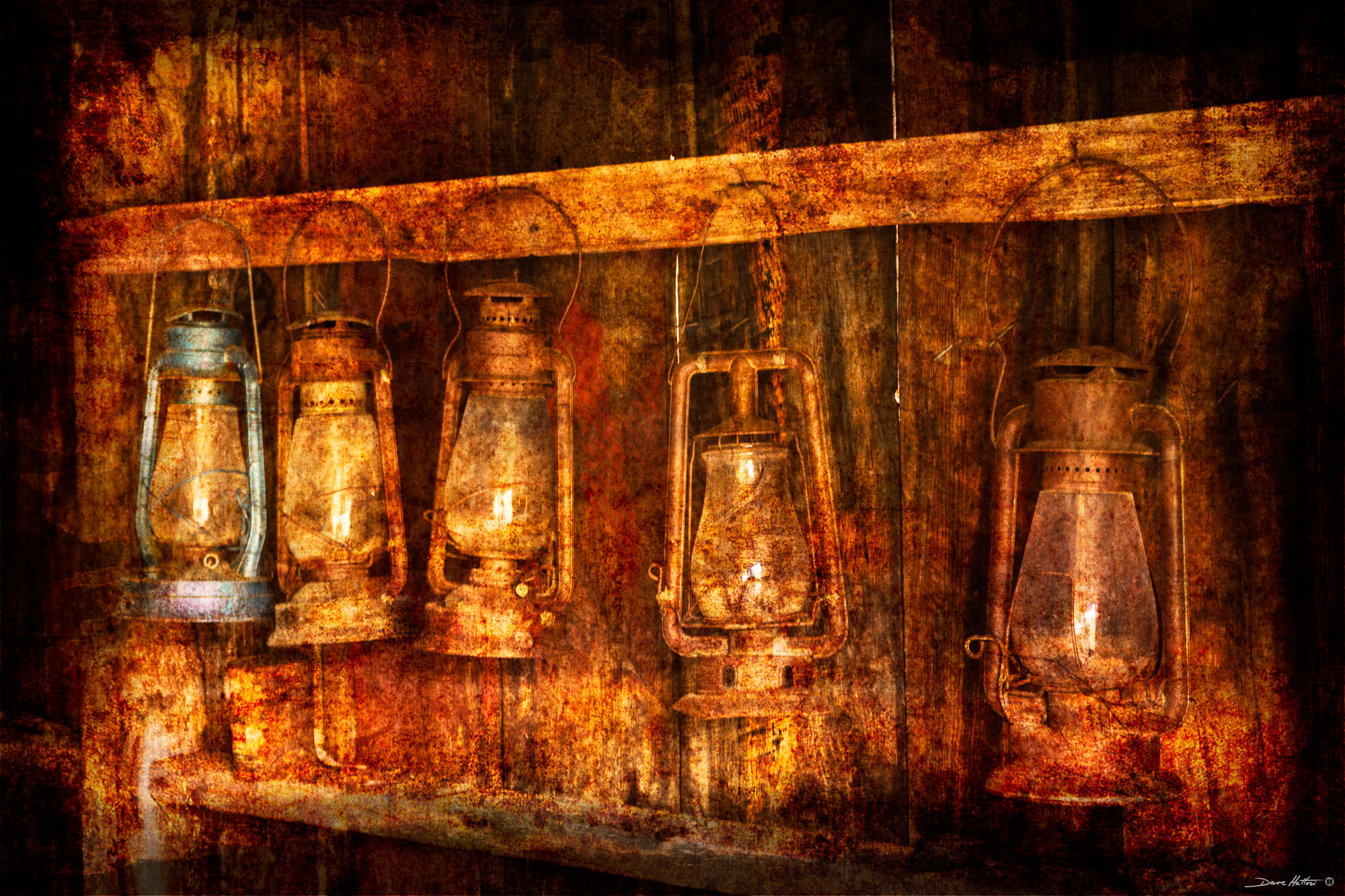 """Ghost Town Lanterns"""