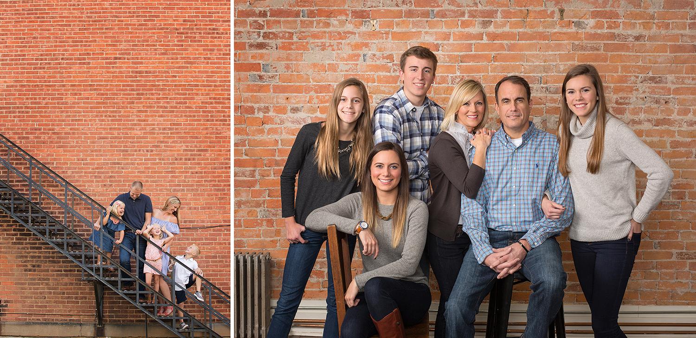 Chickasaw Ohio, Yorkshire Ohio, candid family portrait, outdoor family portrait, indoor family portrait, studio family picture