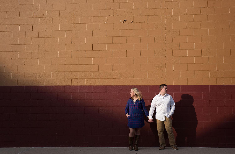 Sidney Ohio, modern engagement photography, creative engagement photography