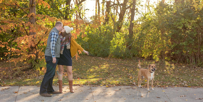 Columbus Ohio, Dublin Ohio, fall engagement photography, storytelling photography