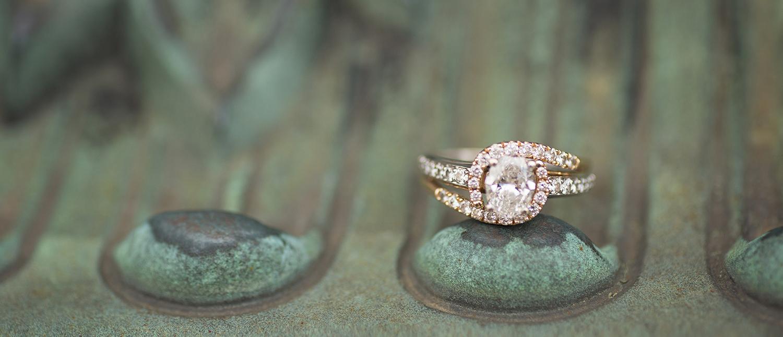 Piqua Ohio, engagement ring detail