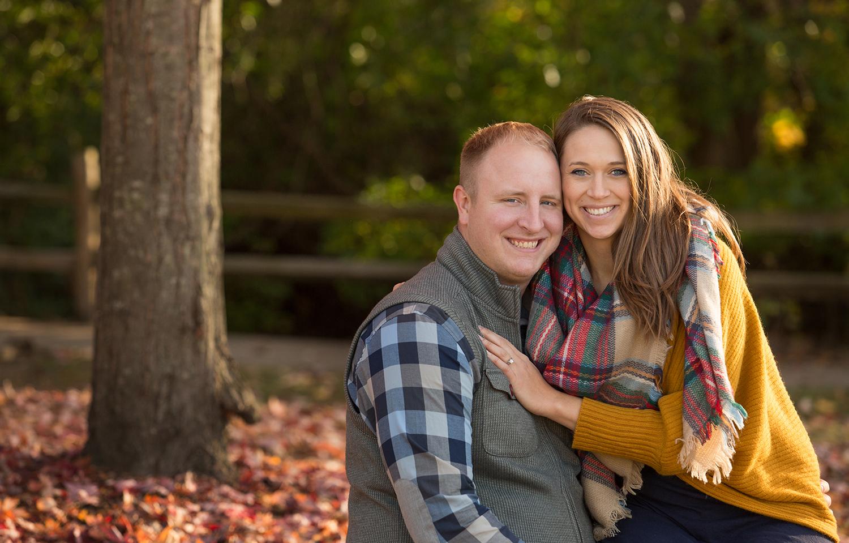 Columbus Ohio, Dublin Ohio, fall engagement photography, engagement portraits