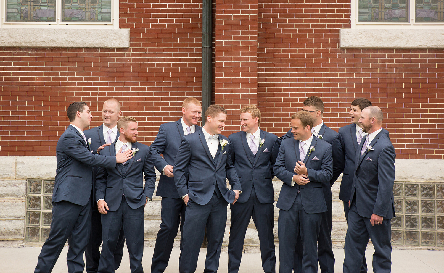 modern wedding photography, storytelling photography, navy suits, Coldwater Ohio